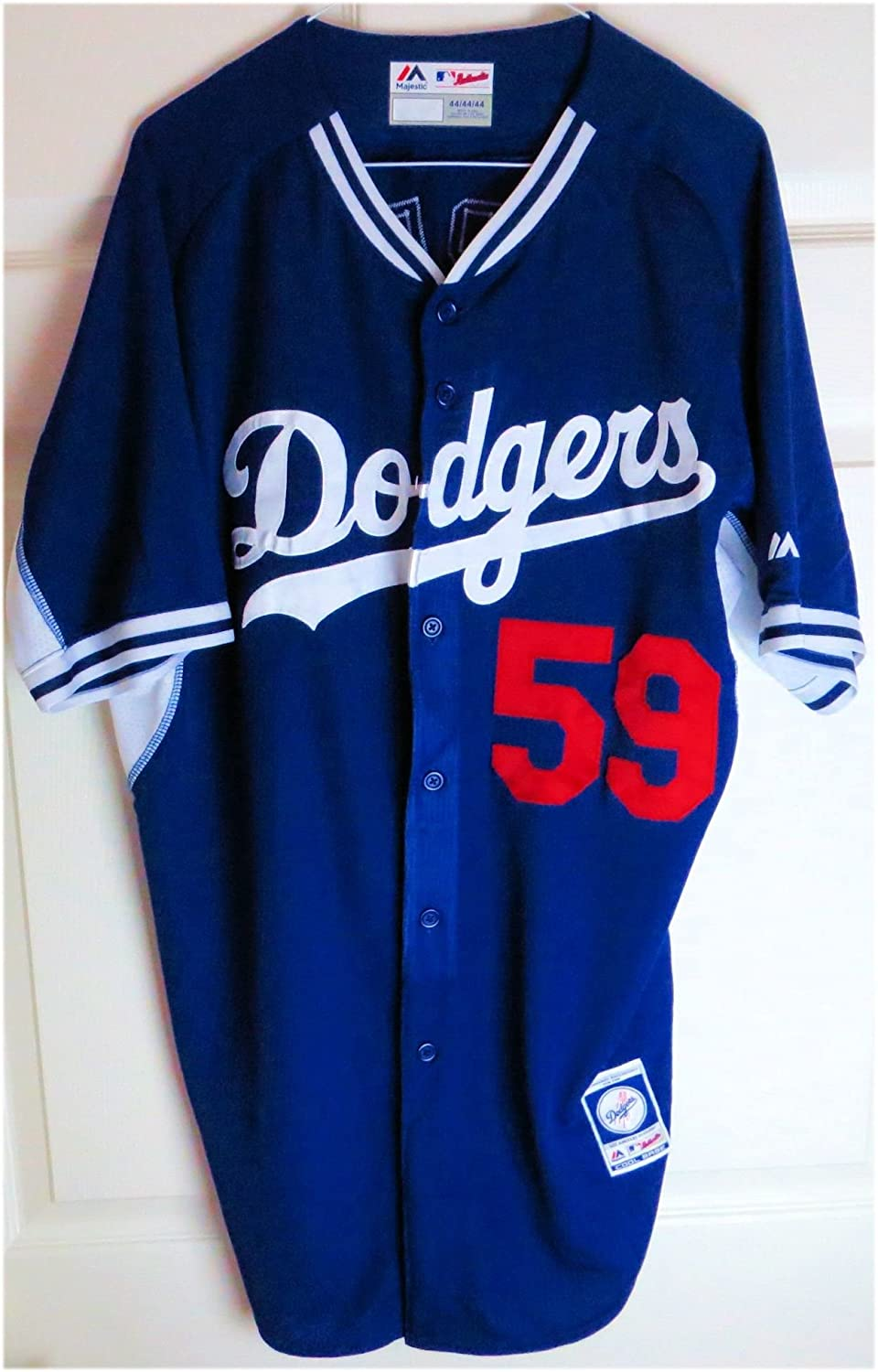 e3cdac84f Ronald Torreyes Team Issue Batting Practice Jersey LA Dodgers #59 MLB  JB085714 at Amazon's Sports Collectibles Store