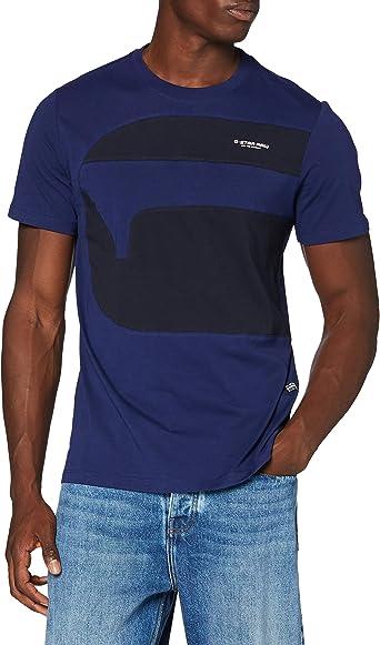G-STAR RAW One Cut and Sewn Graphic Camiseta para Hombre: Amazon.es: Ropa y accesorios