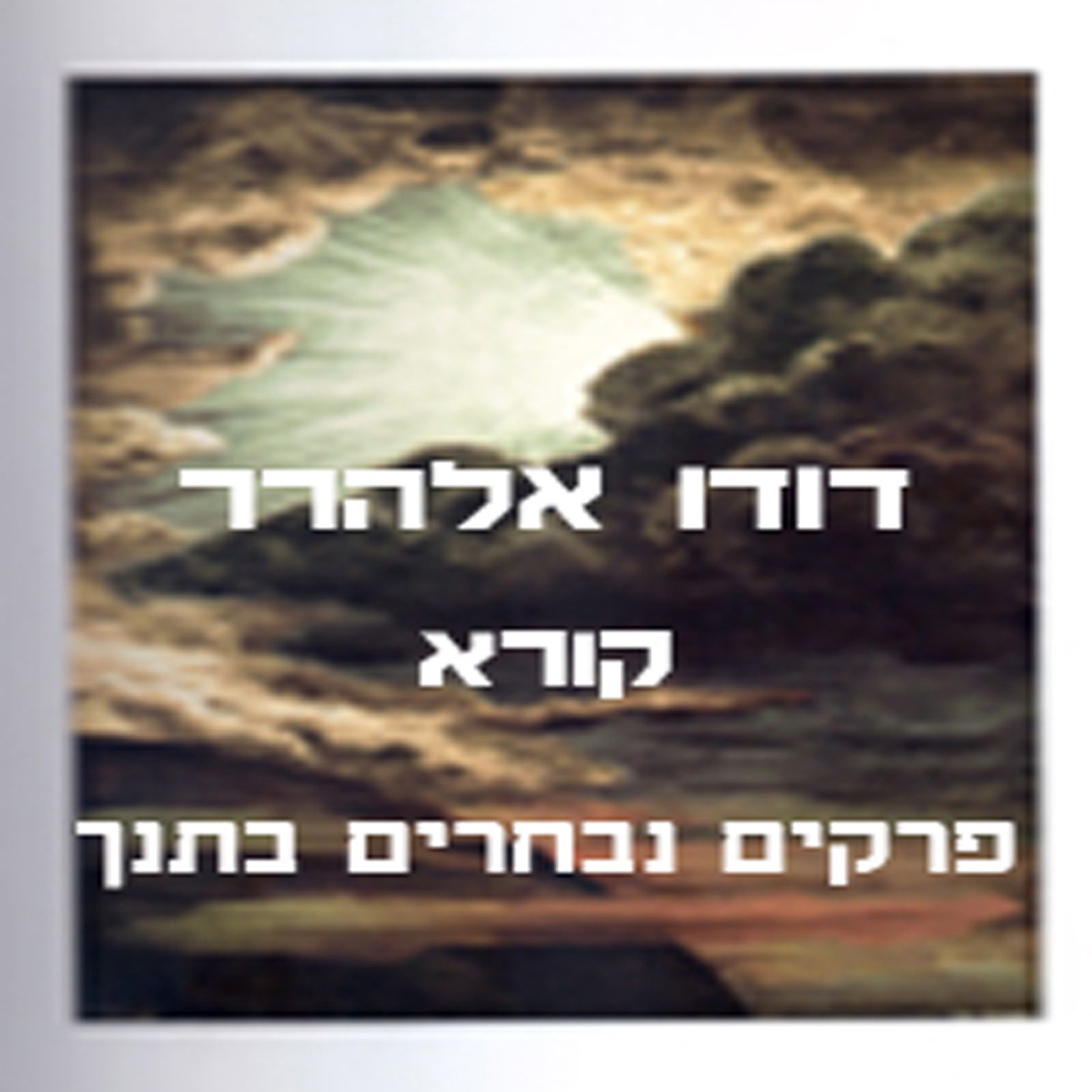 Selected Chapters From The Bible  Hebrew Edition