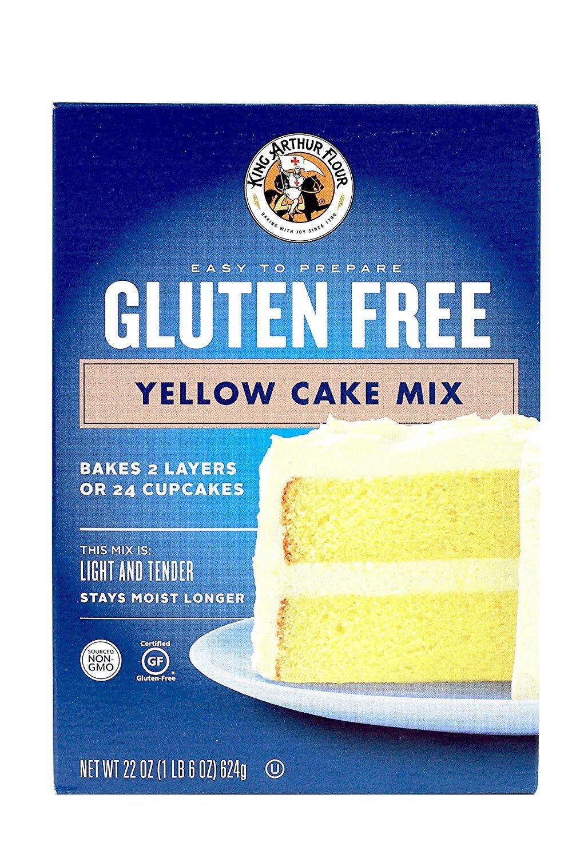 King Arthur Gluten-free Yellow Cake Mix 2 Pack by King Arthur Flour
