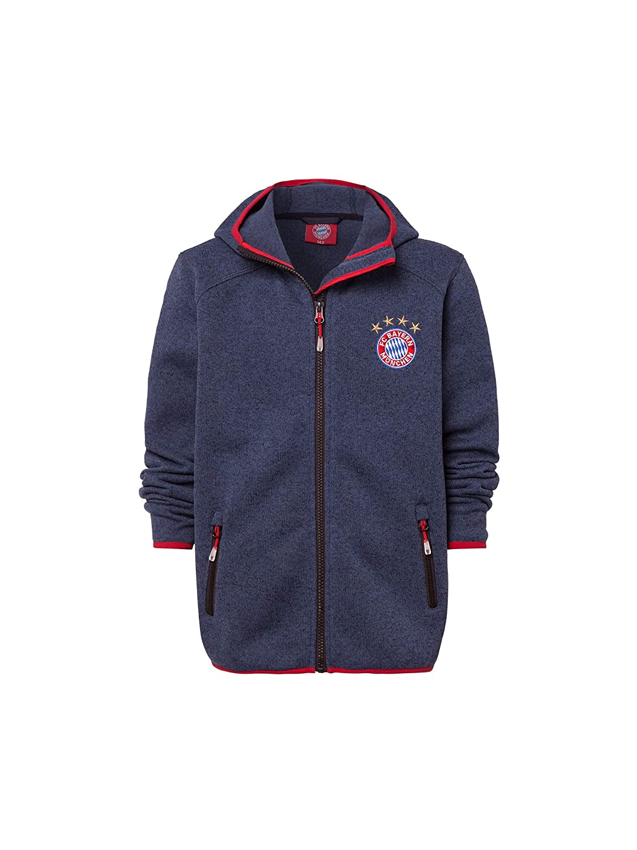 FC Bayern München Strickfleecejacke Kinder, Übergangsjacke Kids