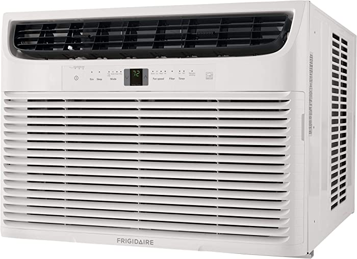 FRIGIDAIRE Energy Star 22,000 BTU 230V Window-Mounted Heavy-Duty Air Conditioner with Full-Function Remote Control, White