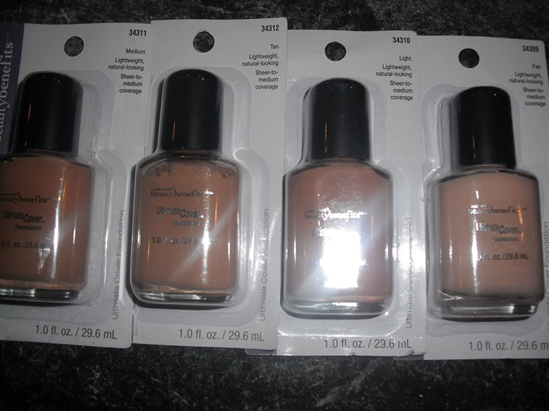 Amazon.com : Wet n Wild Beauty Benefits, Ultimate Cover Foundation, 34312 Tan, 1.0 Fl Oz : Foundation Makeup : Beauty