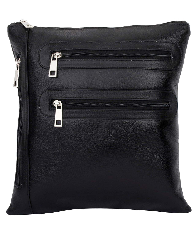 5608ab545df5 K London Sling Bag for Men   Women (BLACK)(AZ SLBAG 01 BLK)  K London  Design Team  Amazon.in  Clothing   Accessories