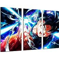 Quadro Moderno Fotografico Anime Giapponese, Goku Dragon Ball, 97x 62cm, RIF. 27154