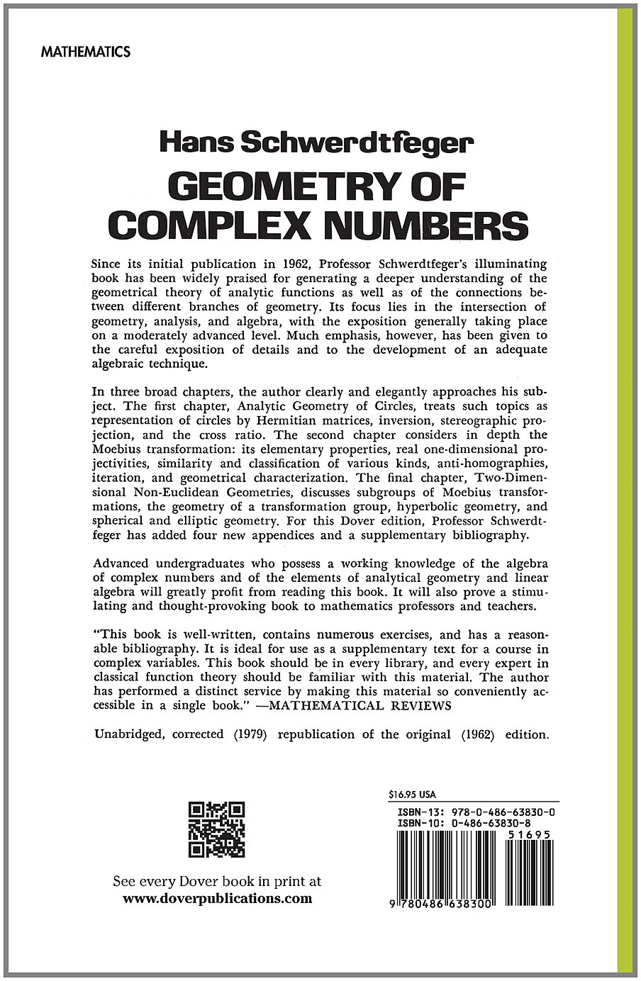 geometry complex numbers