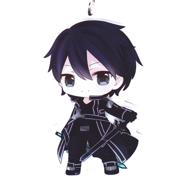 Anime Domain Llavero de Sword Art Online con Figura Chibi ...