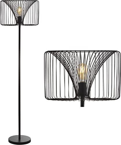 "JONATHAN Y JYL6105A Gridley 61"" Metal LED Floor Lamp"
