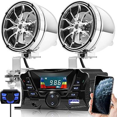 GoHawk TS3 Gen.2 Motorcycle Weatherproof Bluetooth Speakers