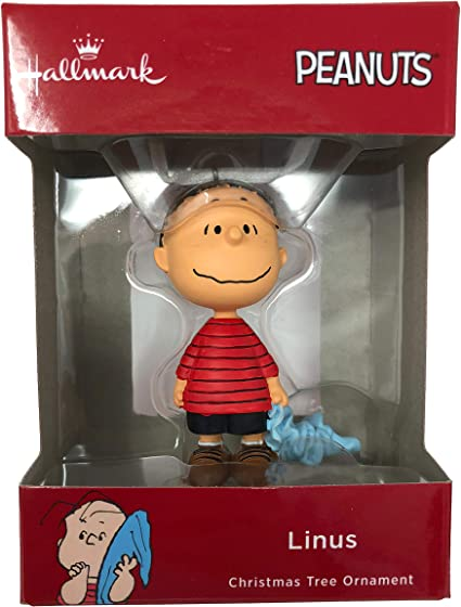 HALLMARK OFFICALLY LICENSED PEANUTS CHARLIE BROWN CHRISTMAS ORNAMENT