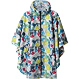 SaphiRose Rain Poncho Jacket Coat for Adults Hooded Waterproof with Zipper Outdoor