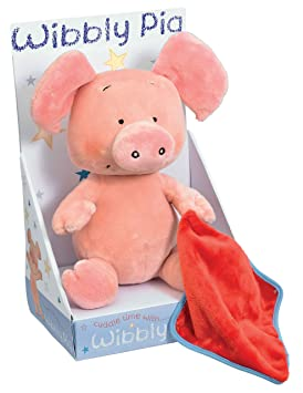 Wibbly Pig Cerdito de peluche (14x29x18 cm) (Globalbaby WP1067)