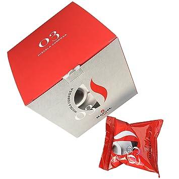 10 Packs Nespresso Compatible Capsules. Roasted Italian Premium Espresso, Manuel Caffe. Semi-