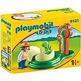 PLAYMOBIL® Girl with Dino Egg Building Set
