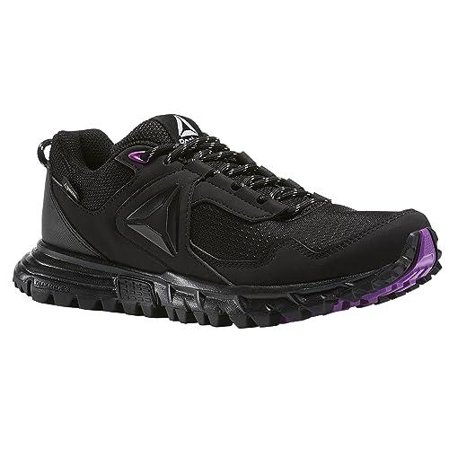 Reebok SAWCUT 5.0 GTX, Zapatillas de Deporte para Mujer, Negro (Black/Vicious Violet/Cloud Grey), 40 EU: Amazon.es: Zapatos y complementos