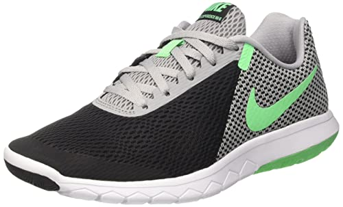 detailed pictures ce3fd d23f4 NIKE Men s Flex Experience RN 6 Running Shoe, Black Electro Green Wolf Grey