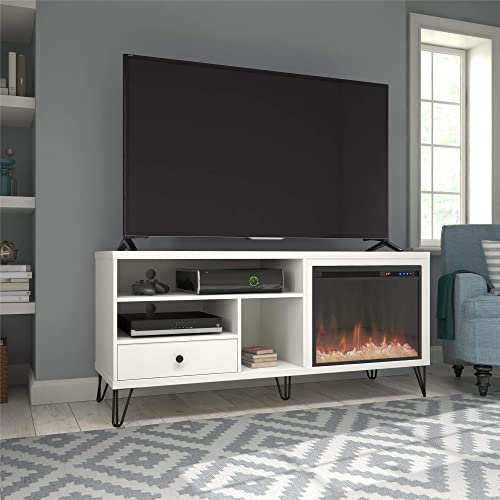 Ameriwood Home Owen Fireplace TV Stand up to 65″