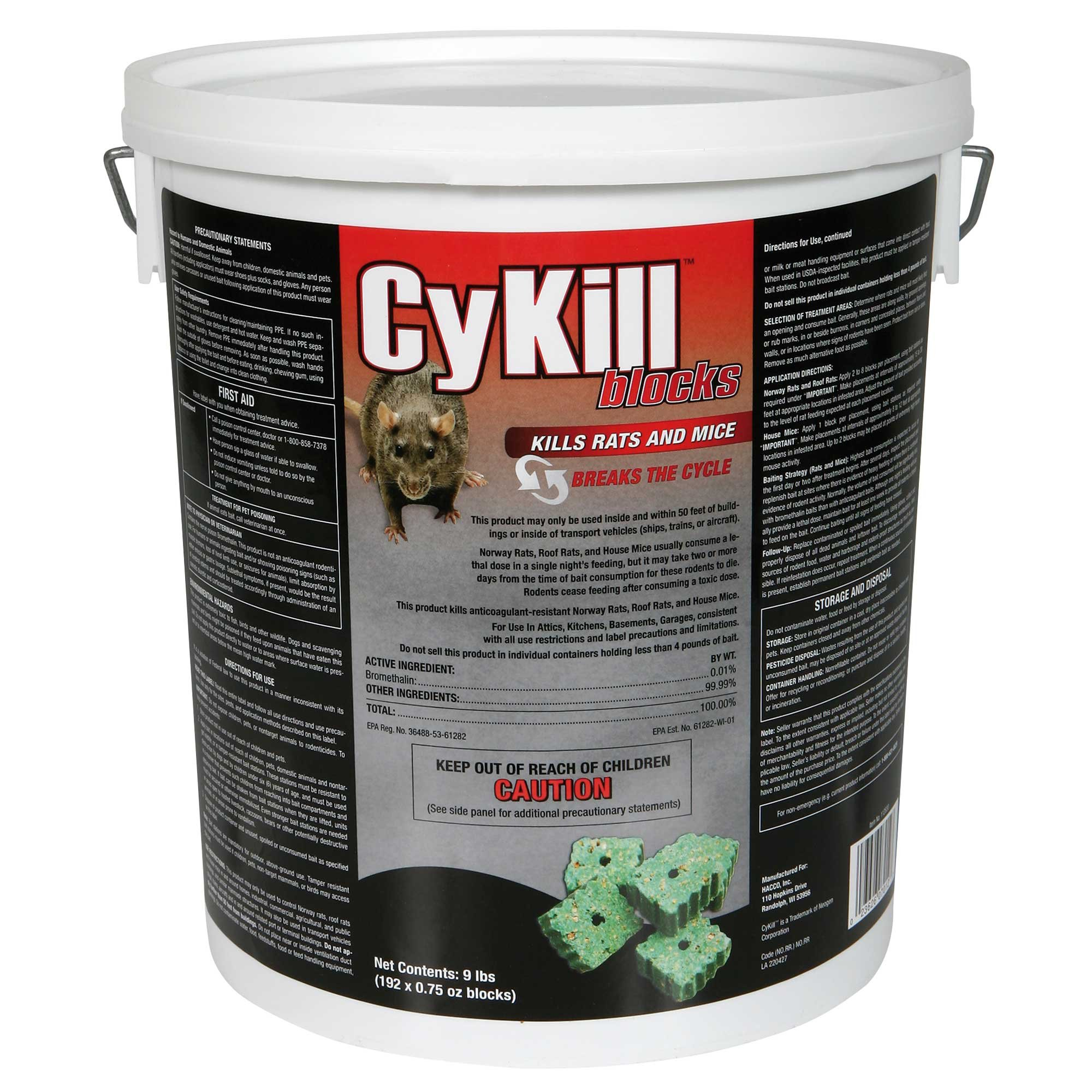 CyKill 112830 Rodenticide by CyKill