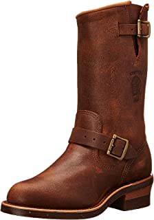 Amazon.com: Chippewa Men's Street Warrior Engineer Boot: Shoes