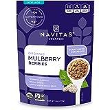 Navitas Organics Mulberries, 4 oz. Bag — Organic, Non-GMO, Sun-Dried, Gluten-Free, Sulfite-Free