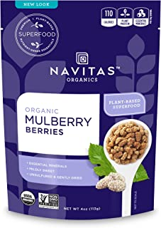 product image for Navitas Organics Mulberries, 4 Ounce Pouch