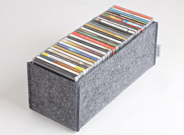 Cd Aufbewahrung greybax jump in vielzweckbox cd box utensilienbox