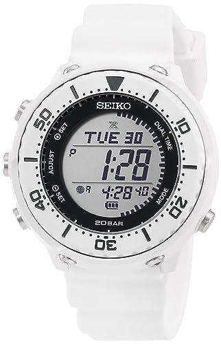 SEIKO PROSPEX SBEP011 - Reloj Digital Solar con Carcasa Inferior: Amazon.es: Relojes
