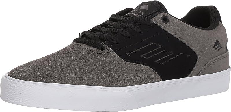 Emerica Reynolds Low Vulc Sneakers Damen Herren Unisex Schwarz/Grau/Weiß