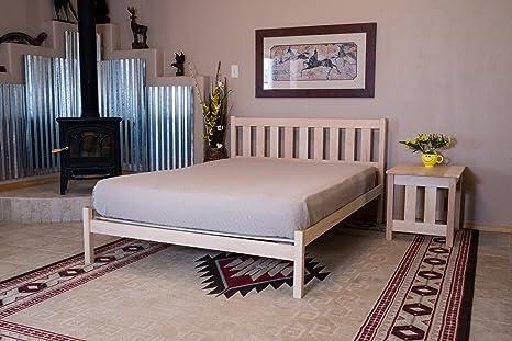 hot sales 7e90a 1990a Nomad Platform Bed Furniture Mission King Oak