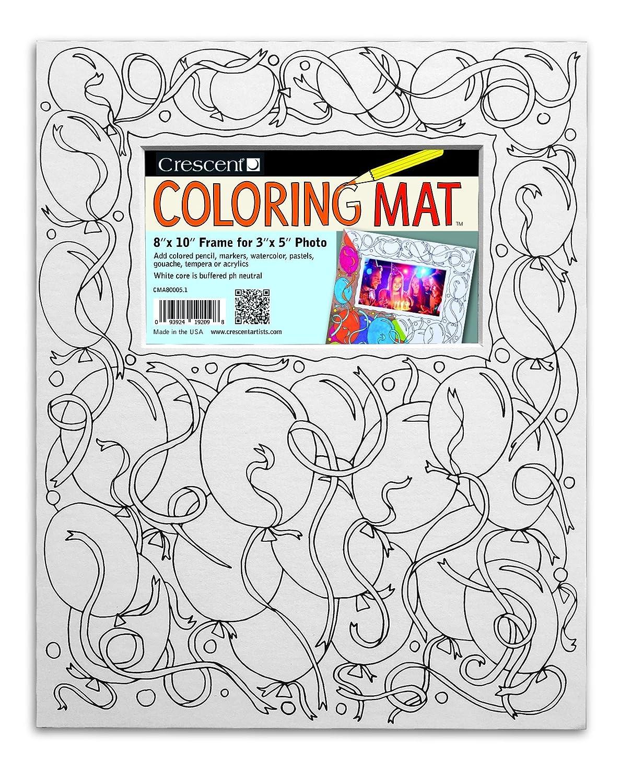 Balloons Coloring Mat - 8\