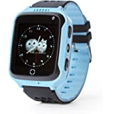 Force Energy Smart Watch – Touch Screen Smart Watch For Kids (Boys & Girls) with GPS, SOS-Call And Camera (Blue)