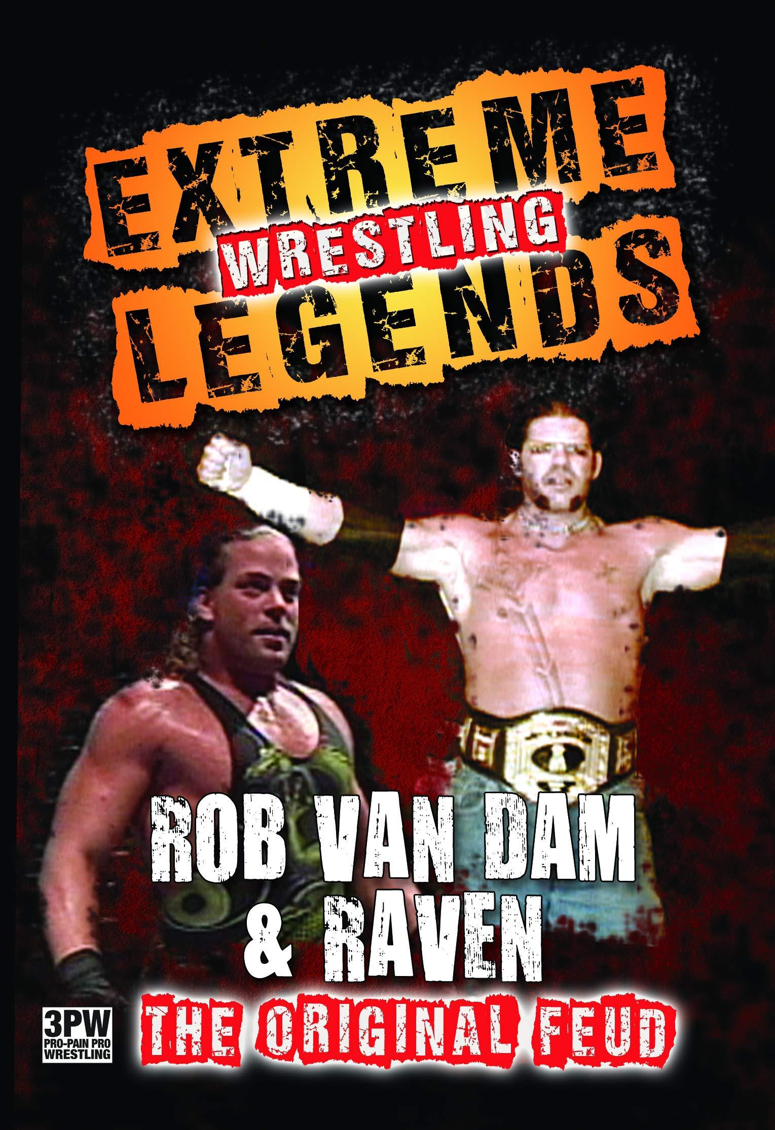 DVD : Extreme Wrestling Legends: Rob Van Dam & Raven (DVD)