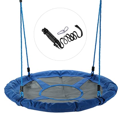 Beau CO Z 40u0026quot; Large Saucer Swing Outdoor Tree Swing Steel Frame Waterproof  With All