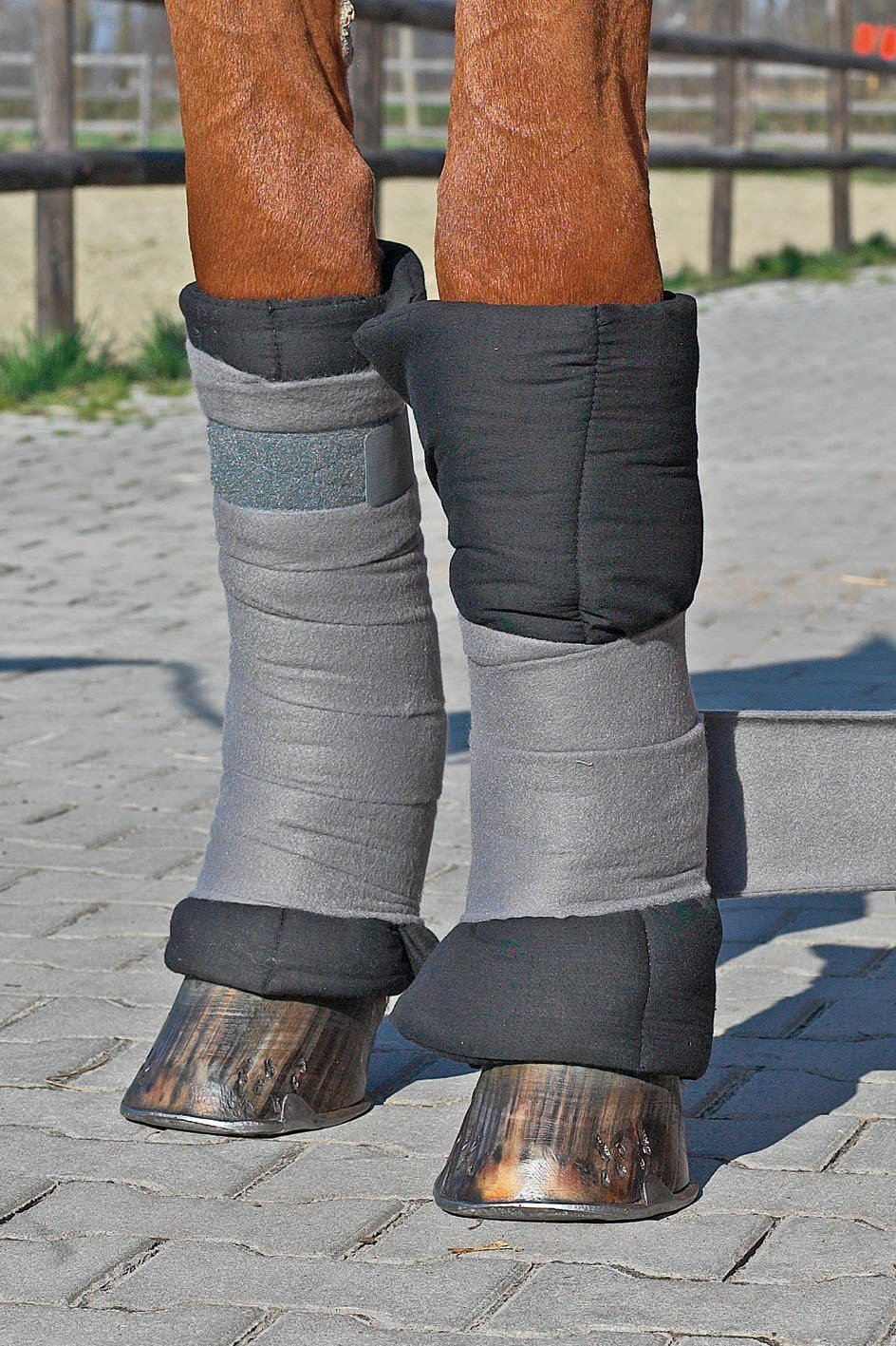 Busse Bandagier-Pad 90x45 schwarz