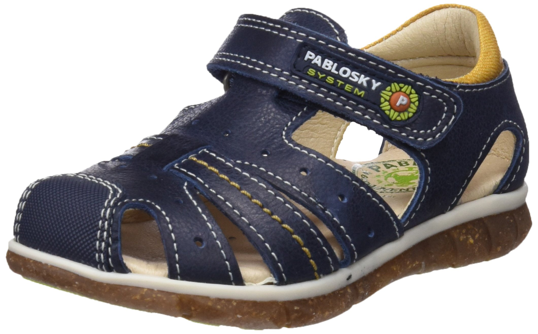 Pablosky Boys' 583226 Closed Toe Sandals, Blue (Azul 583226), 9 UK