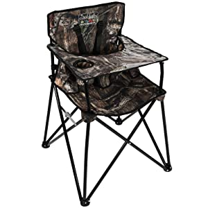 ciao! baby Portable Highchair, Mossy Oak Infinity