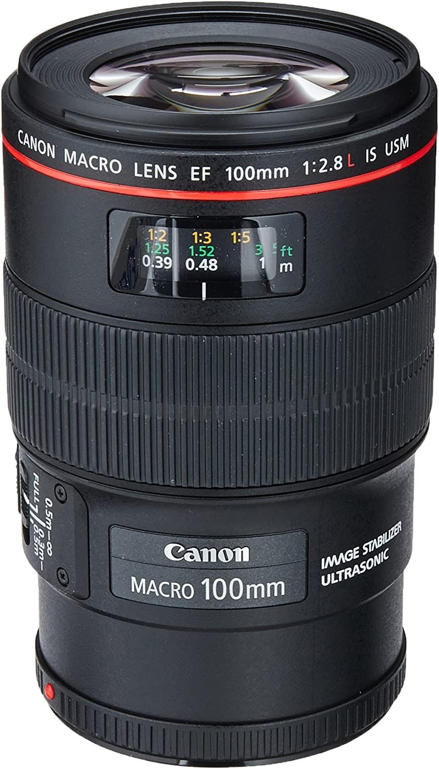 Canon EF 100mm f//2.8L High Grade Multi-Coated 67mm Threaded + Nwv Direct Microfiber Cleaning Cloth. 3 Piece Lens Filter Kit