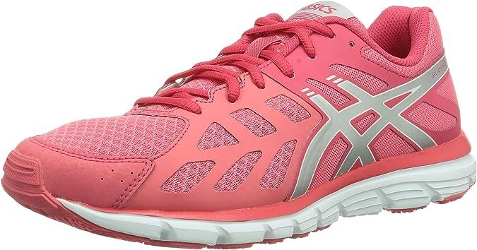 Asics Gel Zaraca 3 - Zapatillas de Running para Mujer, Color Coral/Silv/Pink, Talla 36: Amazon.es: Zapatos y complementos