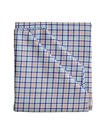 c9c816945c3 British Terminal Men's Cotton Unstitched Shirting Fabric (Multicolour, Free  Size)