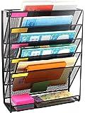 Callas Metal Mesh Wall Mounted File Holder Organiser Literature Rack, LD01-658
