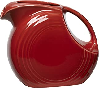 product image for Fiesta 67-1/4-Ounce Large Disk Pitcher, Scarlet