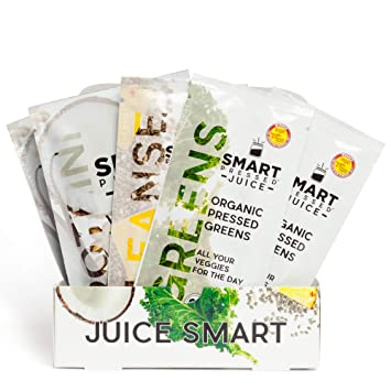 1-Day Organic Juice Cleanse Weight Loss | Smart Pressed Juice | Detox Shake  Fat Burner Program