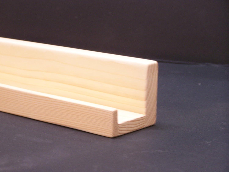 Ultra Narrow Unfinished Floating ledge Shelf, Picture ledge Shelf You Choose length. 20', 22', 24', 26 Inches. Picture ledge Shelf You Choose length. 20 22 24