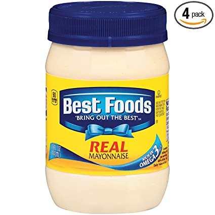 amazon com best foods real mayonnaise 15 oz 4 pack grocery
