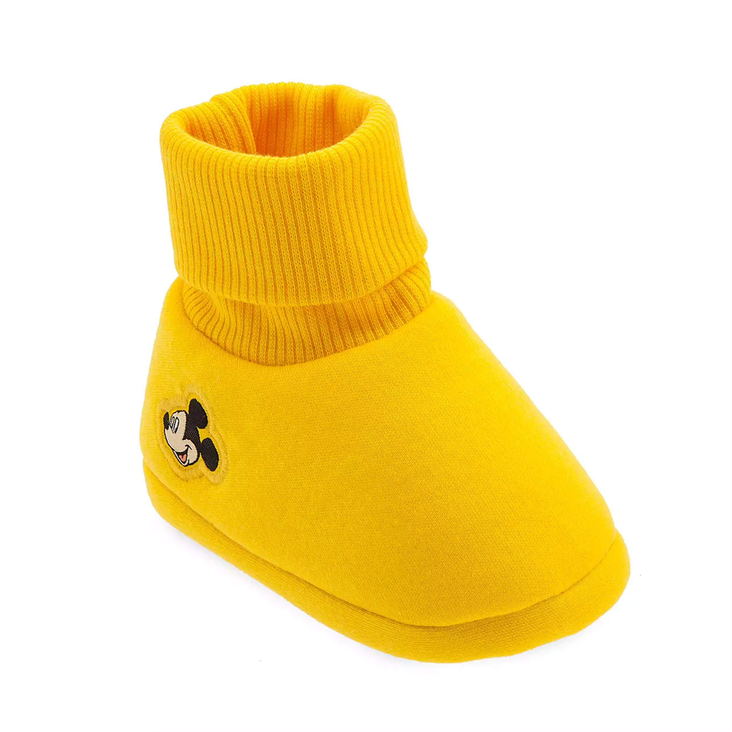 Disney Store Mickey Mouse Yellow Baby