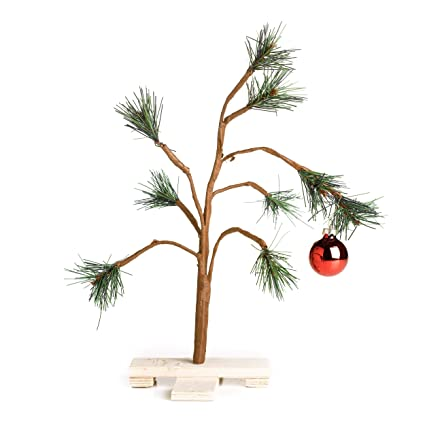 Amazoncom Peanuts Charlie Brown Christmas Tree 14 By Product