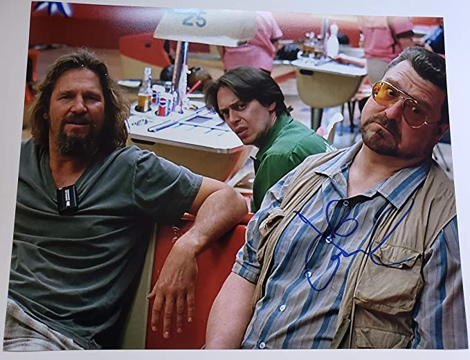 1f0a083518 Image Unavailable. Image not available for. Color  John Goodman autographed  11x14 photograph Walter Sobchak The Big Lebowski