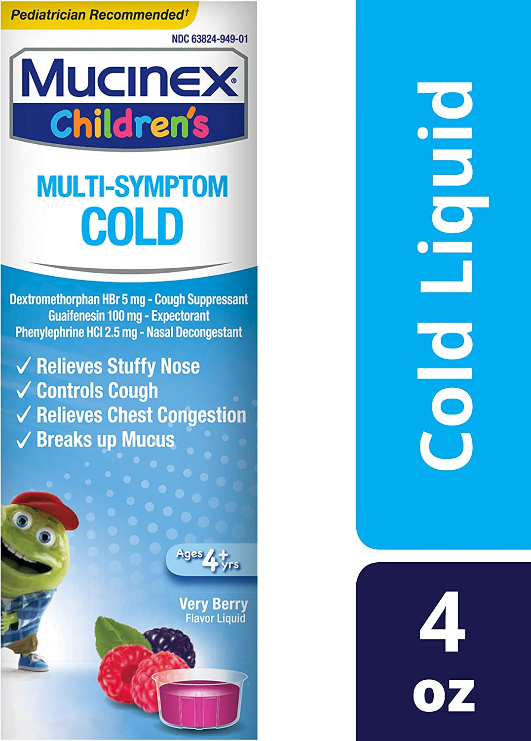 Mucinex Children's Multi-Symptom Cold Relief Liquid