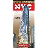 StreetSmart NYC Map by VanDam -- Laminated City Street Map of Manhattan, New York, in 9/11 National Freedom Edition - Folding pocket size city travel, sights, hotels & guided walks, 2019 Edition