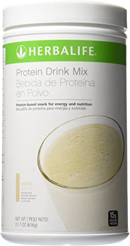Herbalife Protein Drink Mix Vanilla 21.7 oz